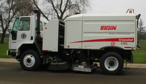 Street Sweeper Vehicle