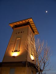 Lodi Transit Center Clock Tower